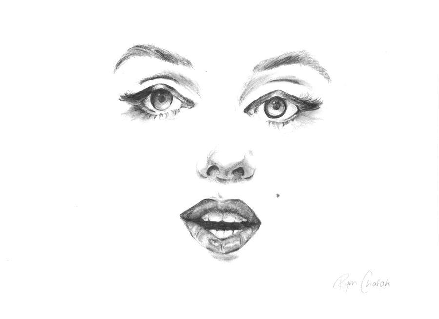 Marilyn Monroe by mimiri-chan