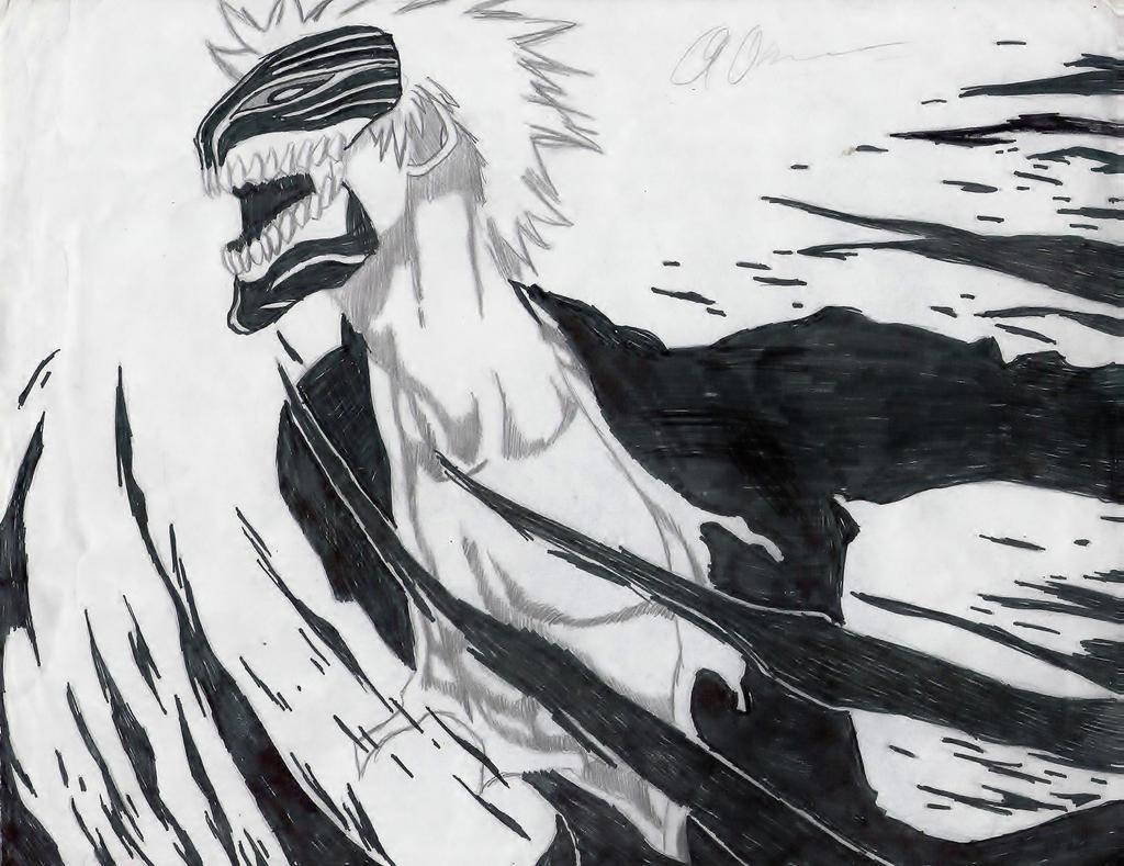 Ichigo's Hollowfication By Sparker957 On DeviantArt