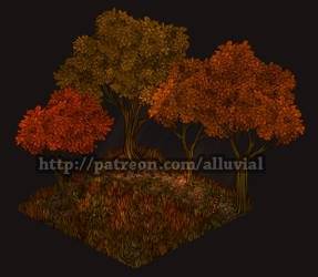 Gumroad: Autumn Woods (Base Tier)
