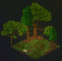 Gumroad: Forest Clearing (Mini-Map)
