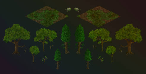 Gumroad: Forest Clearing (Builder's Pack)