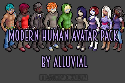 Gumroad: Modern Human Avatar Pack