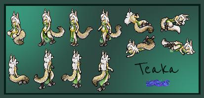 Custom Avatar: Teaka by Alluvial