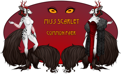 Faer - Miss Scarlet (SOLD) by Alluvial