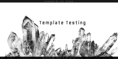 RPR Template: Crystal Cluster by Alluvial