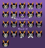 Gamzee Emojis