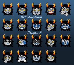 Vriska Discord Emojis