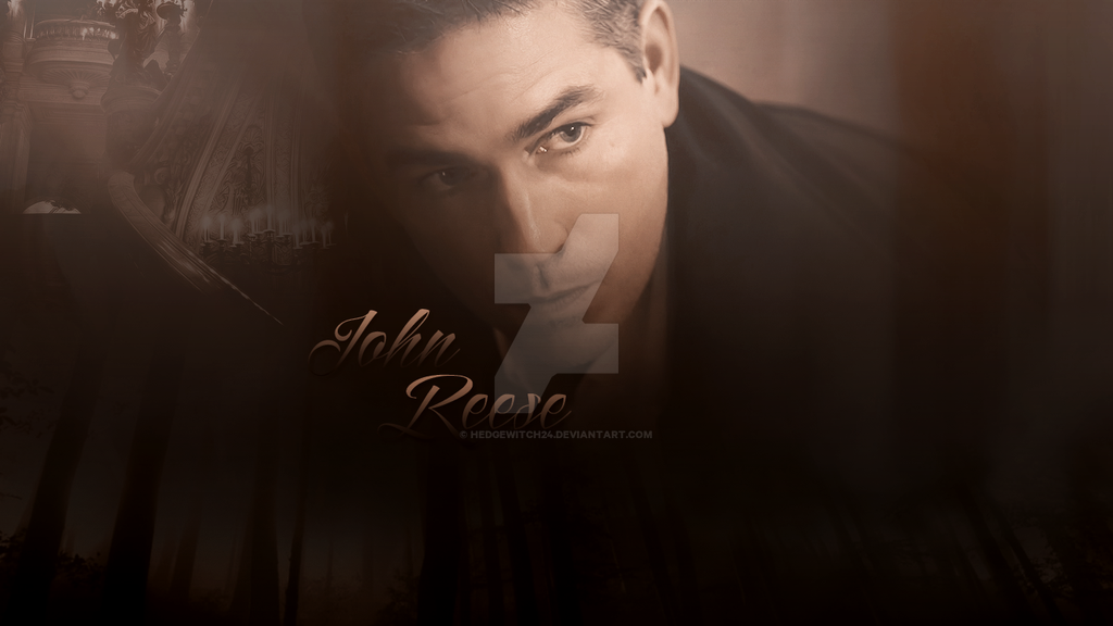 John Reese Wallpaper by HedgeWitch24