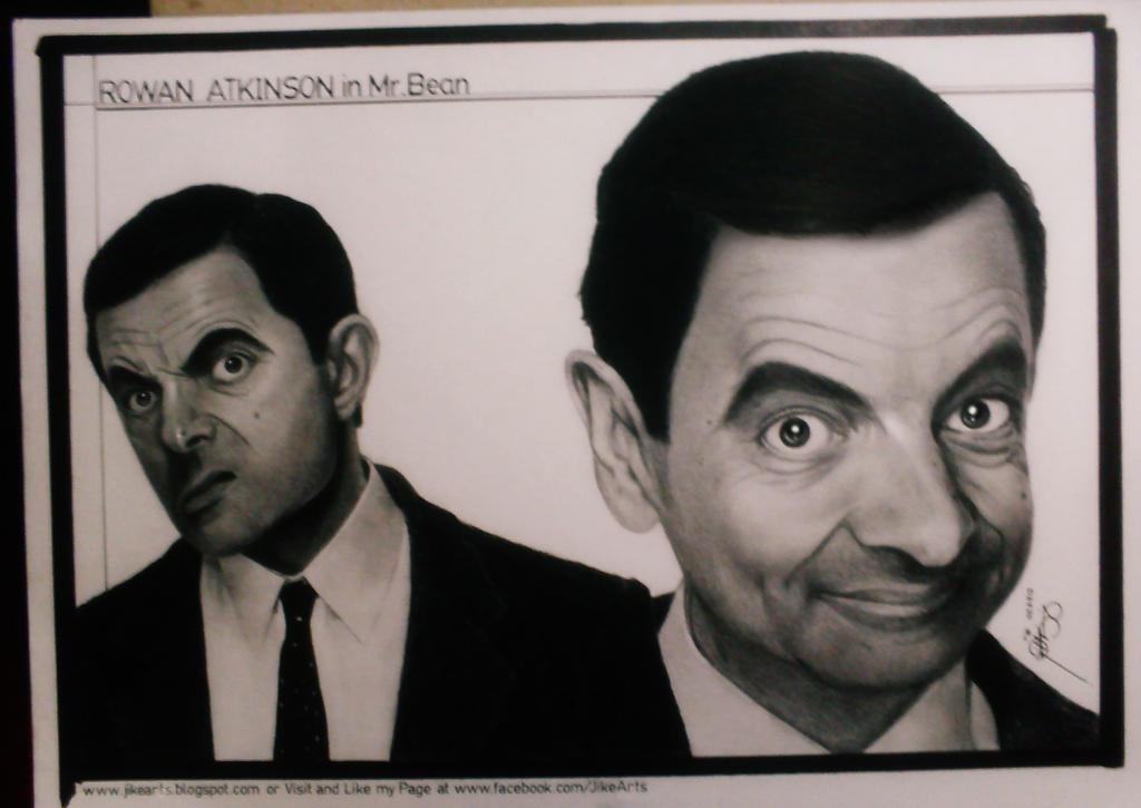 Rowan Atkinson in Mr. Bean by JikeArts