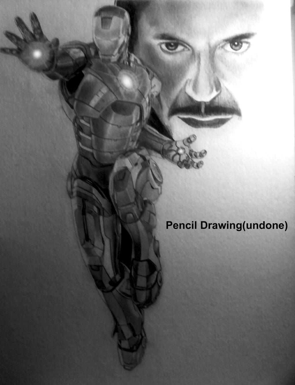 iron man pencil drawing by jikearts traditional art drawings people ... Iron Man Pencil Drawings