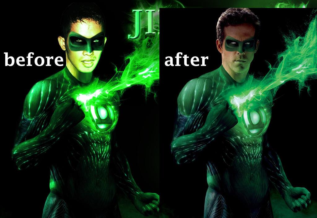 Greenlantern me 2 by JikeArts