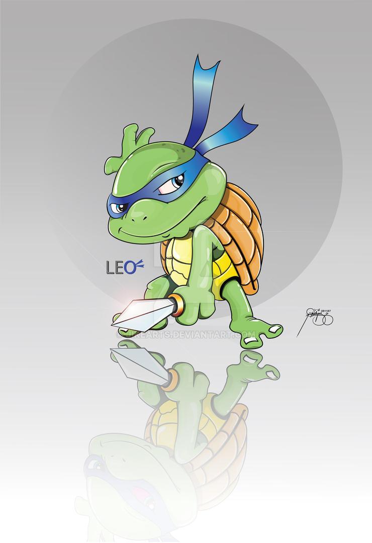TMNT LEO by JikeArts