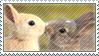 Bunny Stamp by beruruSTAR