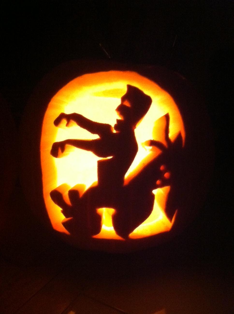 Frankenstein pumpkin 2012 by illustr8yourdream on deviantart for Frankenstein pumpkin templates