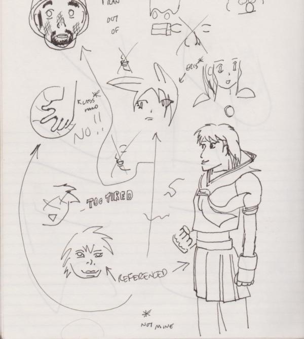 Draw-Something-A-Day #4: Sakura and Hand by Kyuuen