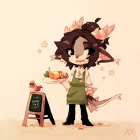Barista boy by Masvino