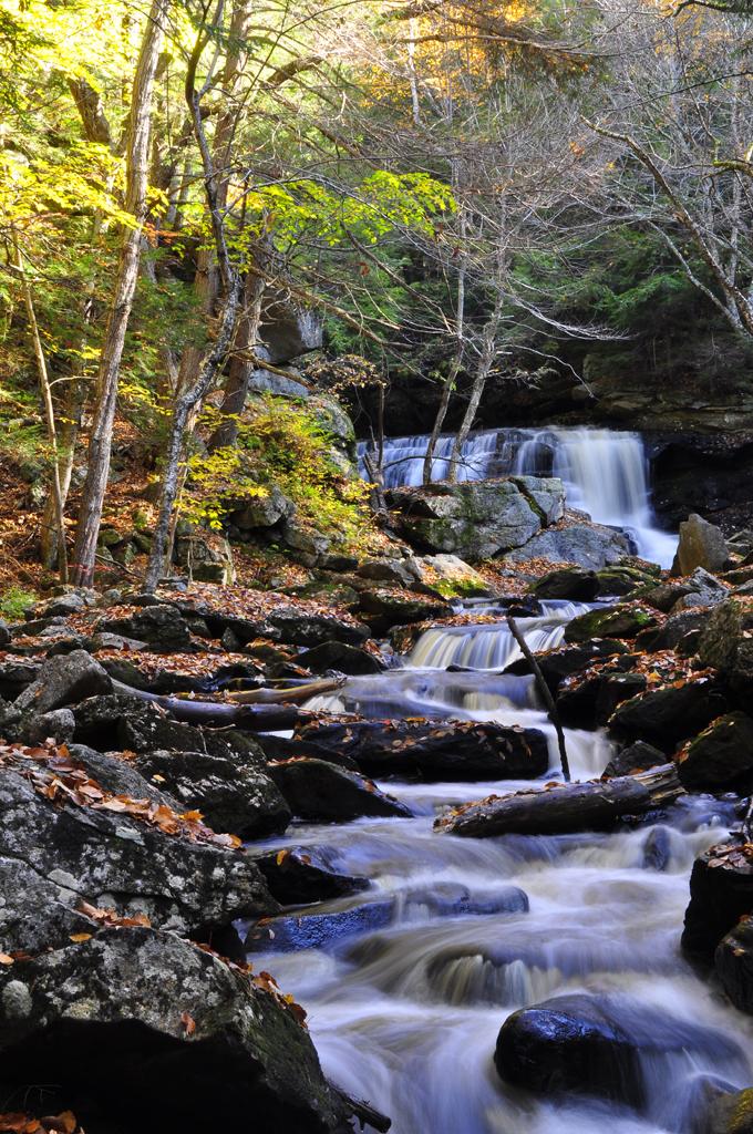 Autumn Falls V by Serinanth