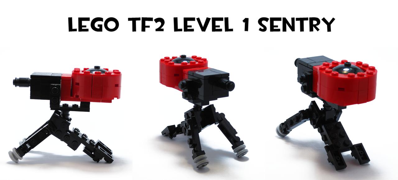 Lego TF2 Level 1 Sentry by HybridAir on DeviantArt