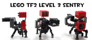 Lego TF2 Level 3 Sentry