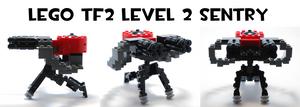Lego TF2 Level 2 Sentry