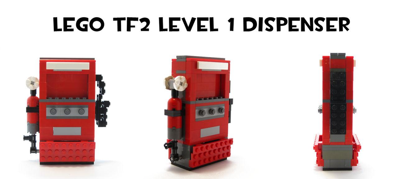 Lego Tf2 Level Sentry By Hybridair Deviantart Tf2 – Desenhos Para