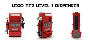 Lego TF2 Level 1 Dispenser