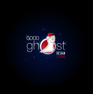 Christmas Goodghost Logotype by goodghost1980
