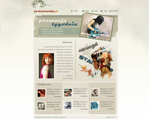 Layout site pracownia.pl