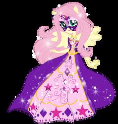 Fluttershy -gala dress by GihhBloonde