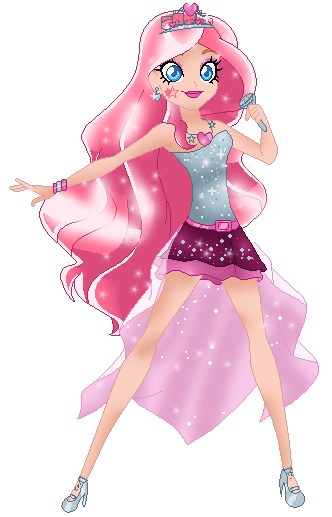 Lolirock Iris , Princess courtheney by geovanaalmeida327