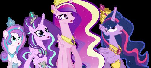 (+Video)MLP-Princesses Redesign