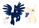 MLP Base-Happy Royal Family