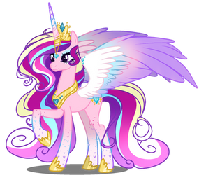 MLD Princess Cadance NextGen by GihhBloonde