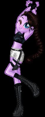My oc as Jennie or Lara Croft XD