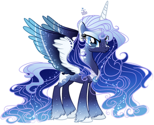 I has too lazy to make her crown sorry LUNA by GihhBloonde