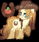 Next Gen Oc adoptable Applejack X Caramel