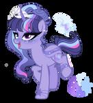 Next Gen Oc adoptable Twilight Sparkle X Trixie