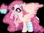 Next Gen Oc adoptable Fluttershy X Sugar Belle