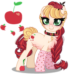 Next Gen Oc adoptable Applejack X Cherry Jubilee