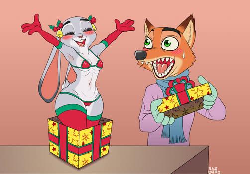 Zootopia Merry Christmas