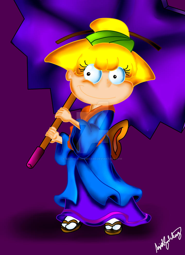 Angelica Pickles by BaconLovingWizard on DeviantArt