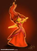 Flame Princess by BaconLovingWizard