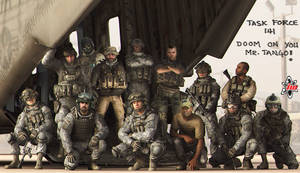 Task Force 141 group pic