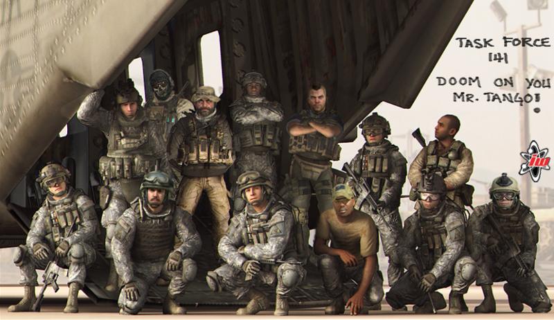 Task Force 141 Group Pic By Felixsoapmactavish On Deviantart