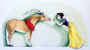Snow White and her Prince by narnia-awake