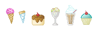 Pixel Deserts :D by MidoriEyes