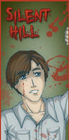 Silent Hill bookmarks- Henry by MidoriEyes