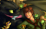 HTTYD - Tea Time of Terror