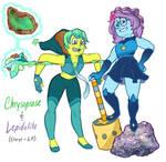 Gemsonas - Chrysoprase + Lepidolite