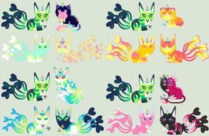 LoveHate/Kitsune Unicat Litter | closed by STARDU5T